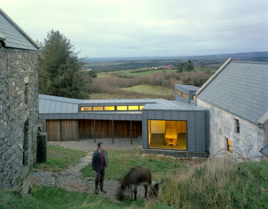 FaHa-Farm-house-barn-County-Clare-Ireland-residential-home-rural-timber-zinc-Jamie-Fobert-Architects-2