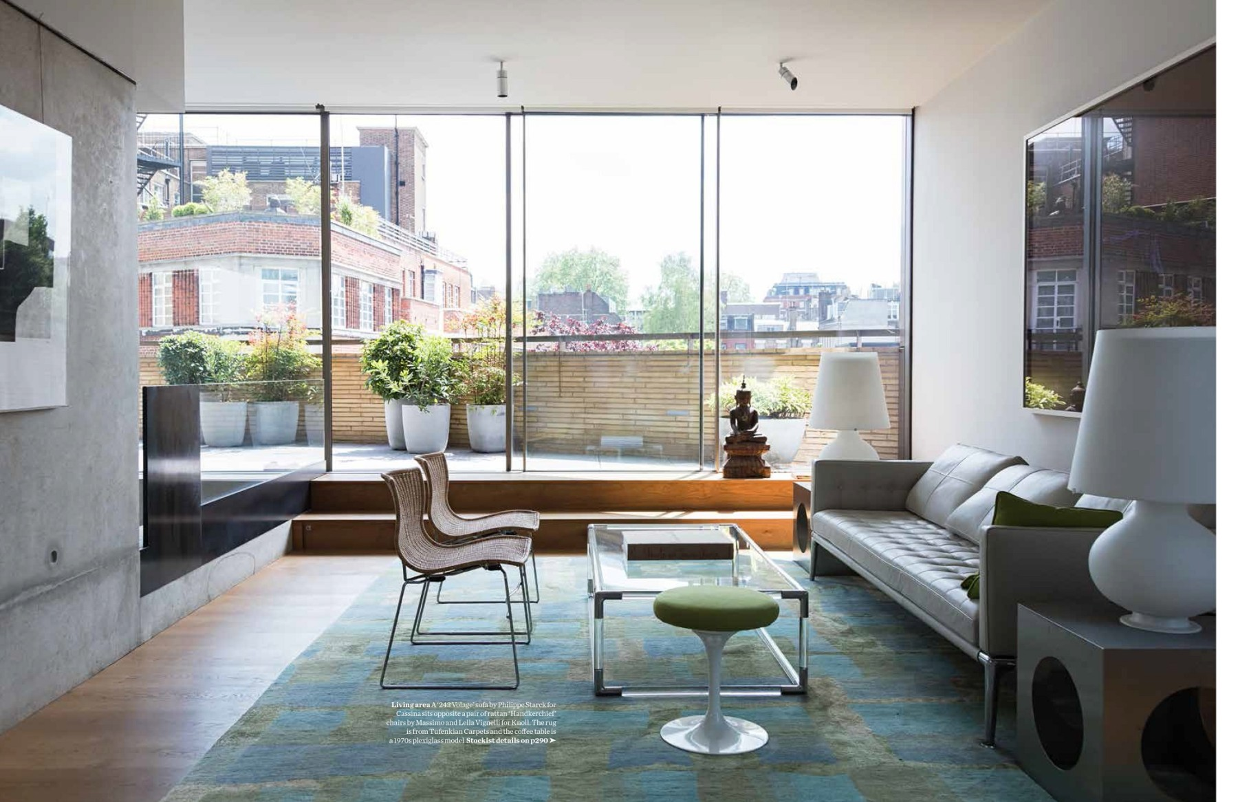 Levering-House-contemporary-modern-London-residential-home-Jamie-Fobert-Architects-Doughty-Mews-Elle-Deco 5