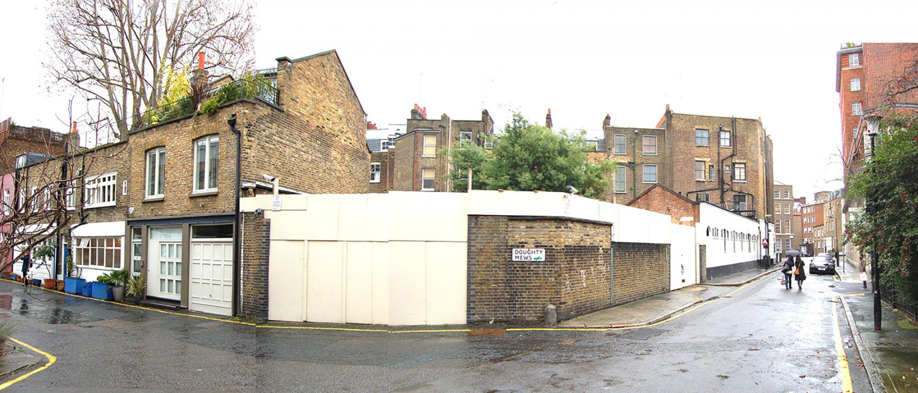Levering-House-contemporary-modern-London-residential-home-Jamie-Fobert-Architects-Doughty-Mews-before-site