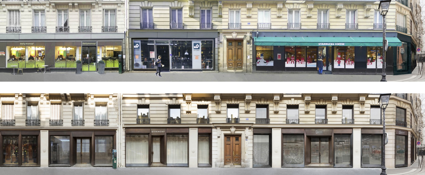 Jamie-Fobert-Architects-BHV-Rue-des-Archives-Paris-facades-luxury-retail-before-and-after