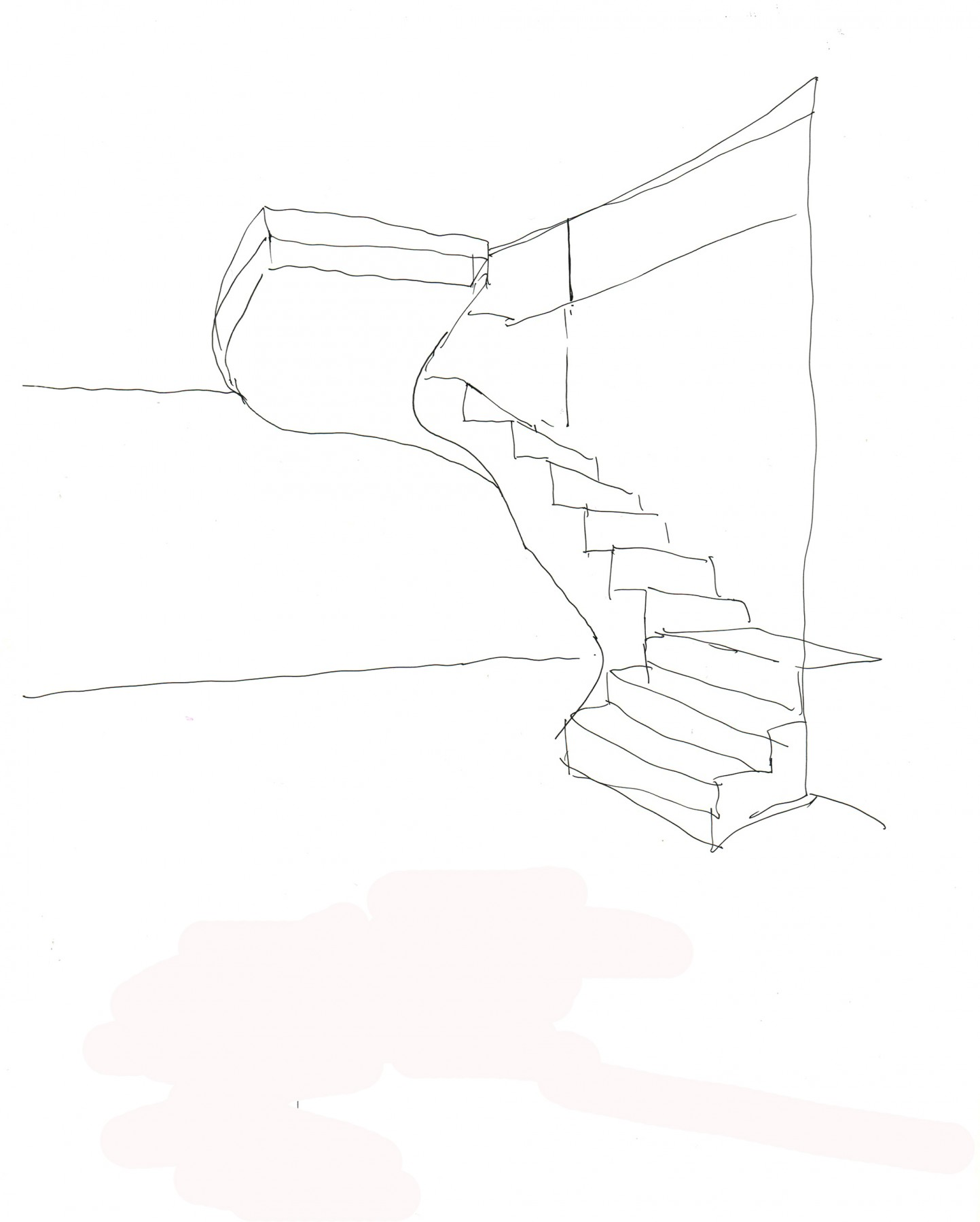 Jamie-Fobert-Architects-Grosz-House-Downshire-Hill-Sketches-Stairs