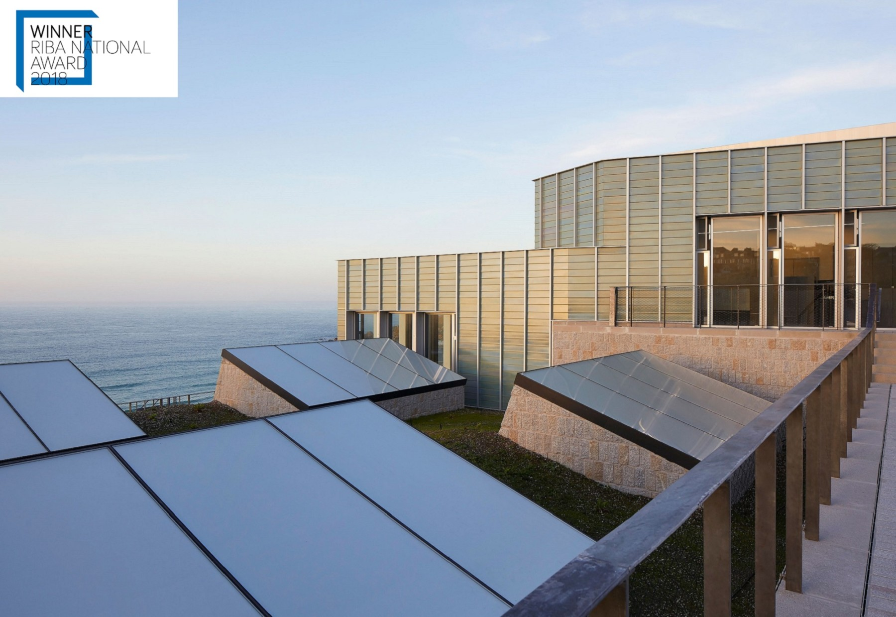 Jamie-Fobert-Architects Tate-St-Ives Cornwall Hufton+Crow faience rooflights RIBA Award Awards 2