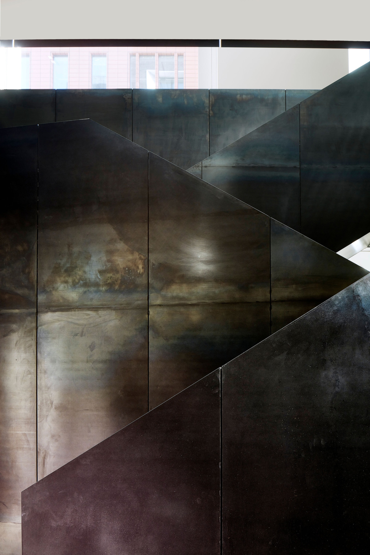 Pace-gallery-hanover-square-jamie-fobert-architects-hot-rolled-black-steel